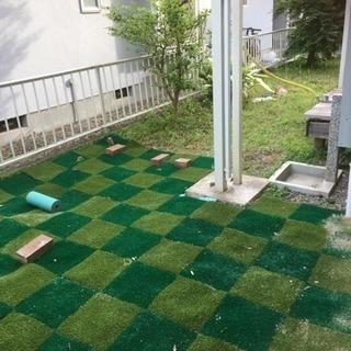お庭に人工芝敷きませんか?