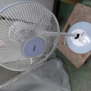 東93 山善リモコン付き 扇風機 ハイポジション