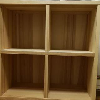 IKEA TRABY シェルフ 80×80×40