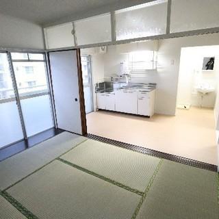 【初期費用は家賃のみ】山口県美祢市、リノベ2DK♪さらに広いお部屋...