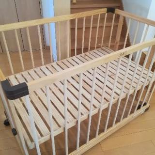 【ファルスカ】ベッドサイドベッド