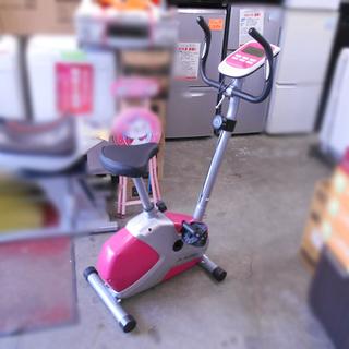 アルインコ エアロマグネティックバイク AFB5214 ピンク ...