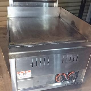 業務用鉄板焼きグリル(都市ガス用、中古品)MGG-046T 大幅...