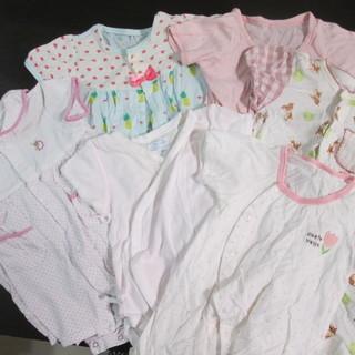 新生児ベビー服肌着 半袖 夏用 6枚セット