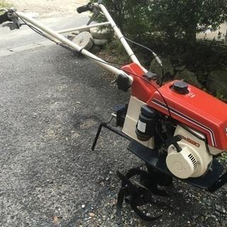調子の良い耕運機
