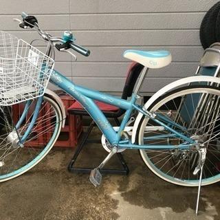 値下げしました 自転車  女の子用  シマノ製26インチ