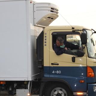 【東京】限定求人!安定・高収入! 4tトラックドライバー