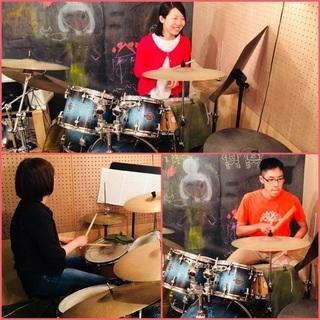 北九州のドラム無料体験レッスン