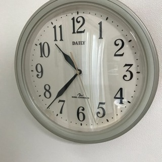 電波壁掛け時計