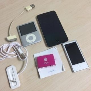 iPod 4個セット 実働品 中古