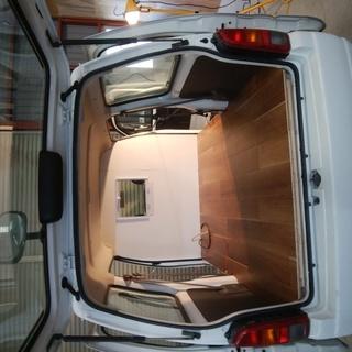 【値下げ】軽四バンでの移動販売車(キッチンカー)の床・間仕切り