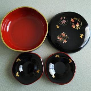 HANAE MORI 菓子器と茶托のセット♪の画像