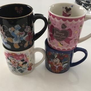 マグカップ 4個 ディズニー