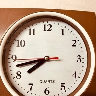 小さな掛け時計