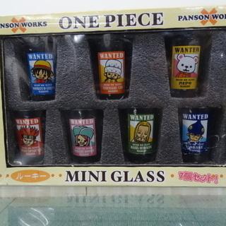 未使用品 ワンピース ミニグラス 7p