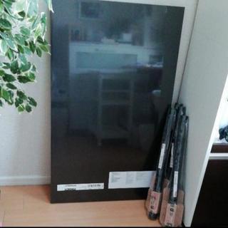 [終了]新品未使用 IKEAテーブル(ブラックブラウン)