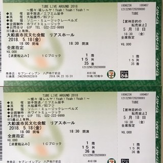 5/18 TUBE Live Around 2018 大船渡リアスホール