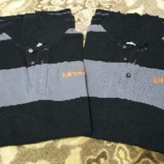 激安‼️お値下げ💴✨👛👕メンズ半袖綿ポロシャツ2枚組👕美品✨