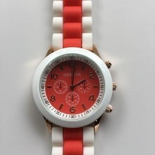 腕時計 可愛い♪ オシャレ♪ 未使用(レッド)
