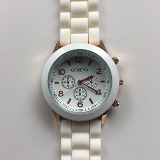腕時計 可愛い♪ オシャレ♪ 未使用(ホワイト)