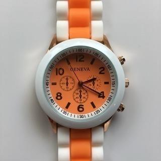 腕時計 可愛い♪ オシャレ♪ 未使用(オレンジ)