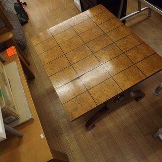 テーブル アンティーク インテリア 幅72cm 札幌 西岡発