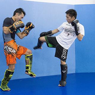 現役選手を続けたい方へ。格闘技ジムトレーナー
