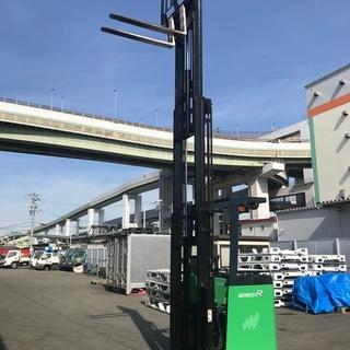 トヨタ フォークリフト 1.5トン リーチタイプ 7FBR…