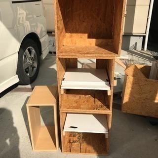 手作りのボックス、DYI用木材