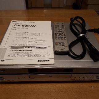 SACD対応パイオニアDVDプレイヤー DV-800AV …