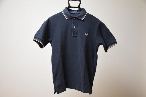 6d68fee40d2f レディース FRED PERRY ラインポロシャツ フレッドペリー ポロシャツ サイズSの画像