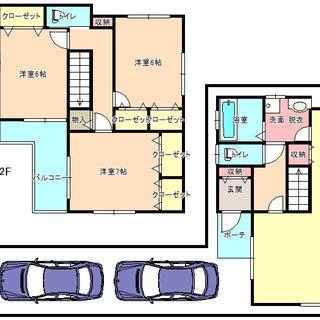 岸和田市上野町西 戸建 駐車場 3台可能 !!!自己資金10万円で...