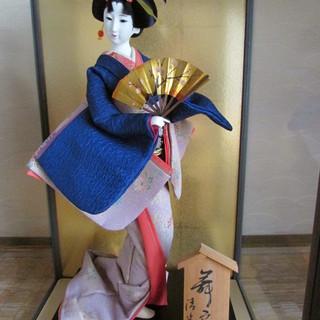 日本人形 舞扇
