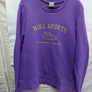 【NIKE】 メンズ トレーナー(L) 紫色