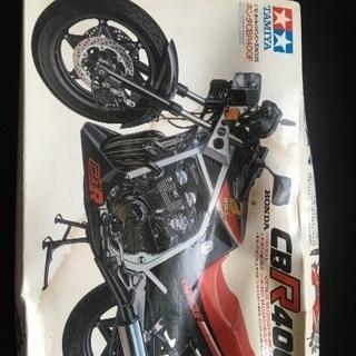 CBR400F プラモデル