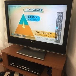 【激•ジャンク!】REGZA  32型テレビ差し上げます。注:詳細を必ずお読み下さいの画像