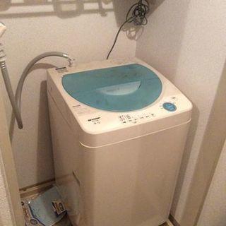 SHARP 洗濯機 2007製「配達不可」