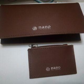 nano universe 長財布&小銭入れ