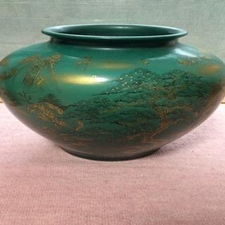 九谷焼き 壺 花瓶