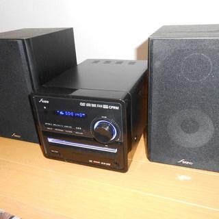 CD、DVDミニコンポ、USBメモリー対応、mp3対応