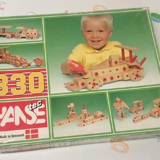 ♪HANSE TEC 330 デンマーク製の積み木/ブロック♪