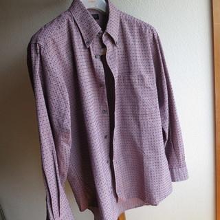 METRONE カジュアルシャツ ブルーレッドチェック Lサイズ...