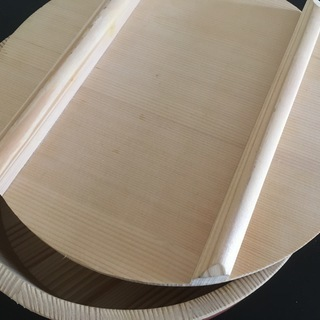立花容器 【国産】 寿司桶 27cm 蓋付 (容量約3合)