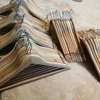 ニトリ ハンガー 木製 66個セット
