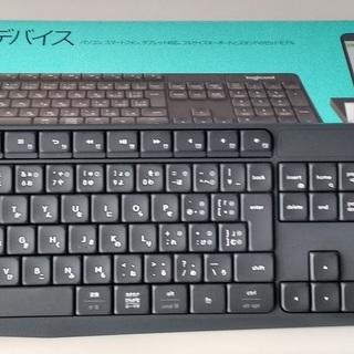 ワイヤレスキーボード ロジクール K370s Bluetooth...