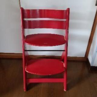 幼児椅子( ^-^)  座る位置  足の位置  調節細かく可能(...