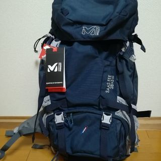 新品ミレー サースフェー28+5LD(色:紺色)