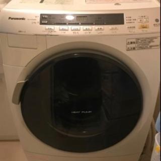 ドラム式洗濯機とシャープ冷蔵庫セット