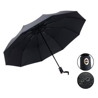 とても丈夫 強風でも折れにくい 折りたたみ傘 自動開閉ワンタッチ...