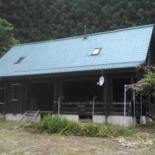 田舎暮らし、新規就農に最適!中古ログハウス
